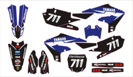 YZF450 -18-19 Yamaha YZF 250-450 2019 set black