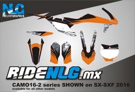 KTM Camo-2 graphics