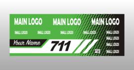 Green Custom banner