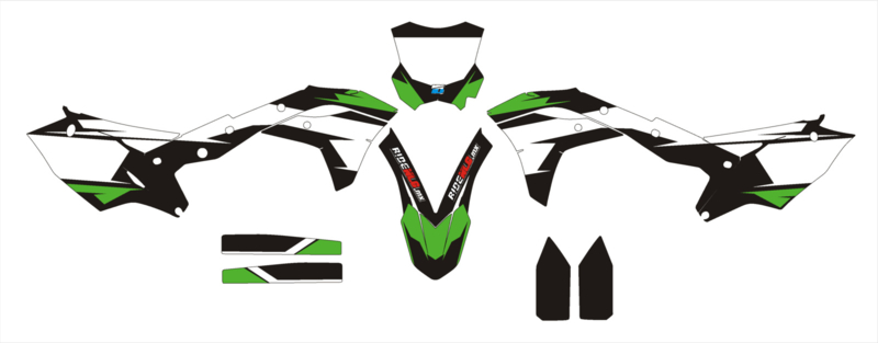 kxf 250 17 complete set 7