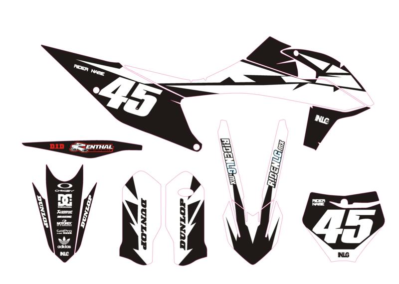 KTM complete set strider Black/white