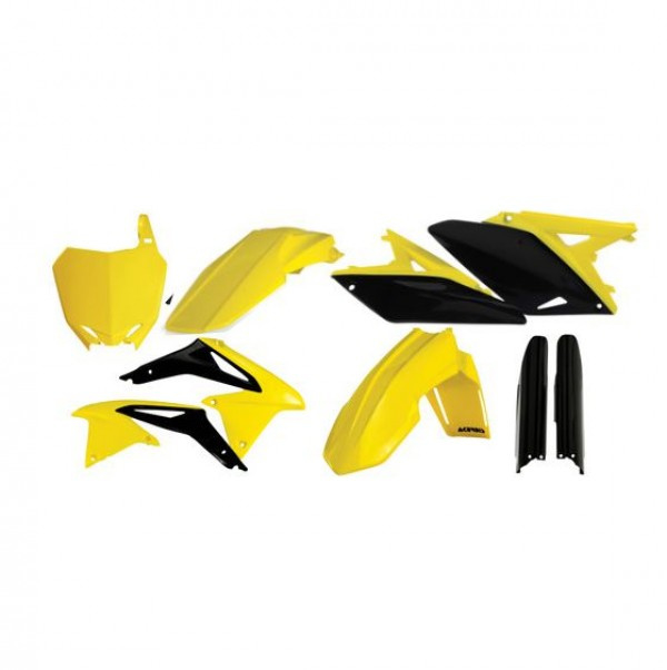 FULL KIT PLASTIC RMZ 250 10-18 - STANDARD 17