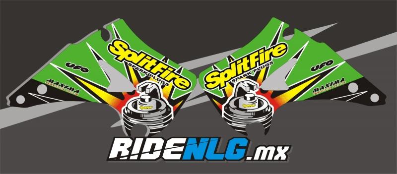 Splitfire KX 93 graphics