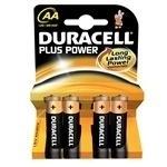 Duracell plus AA pakje van 4 stuks .