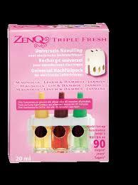 ZenQ triple fresh Univerele navulling Magnolia/Linu,&bambo/Jasmijn