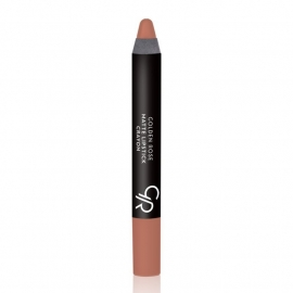 Golden Rose Matte Lipstick Crayon-14