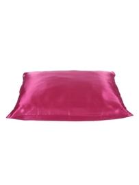 Beauty Pillow - roze satijnen kussensloop
