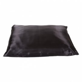 Beauty Pillow - antraciet satijnen kussensloop