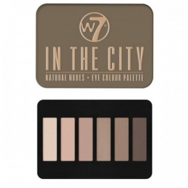 W7 - In the City Oogschaduw Palette