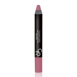 Golden Rose Matte Lipstick Crayon-10