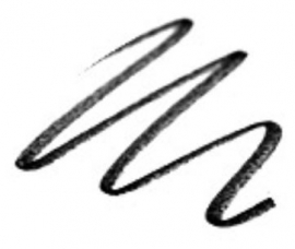 Golden Rose Smokey Effect Eye Pencil Black