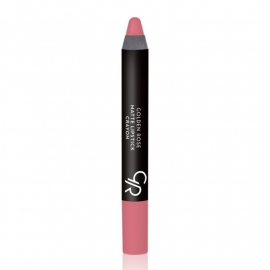 Golden Rose Matte Lipstick Crayon-12