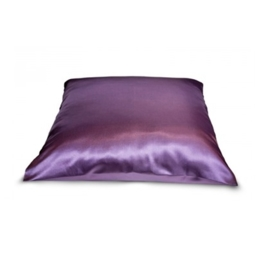 Beauty Pillow - aubergine satjnen kussensloop