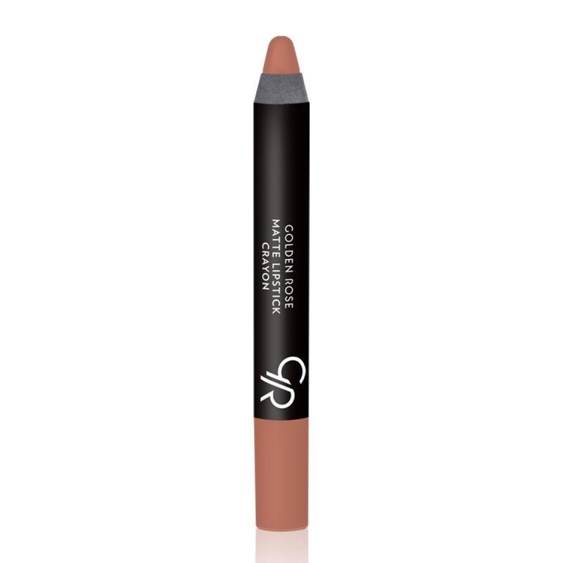 Golden Rose Matte Lipstick Crayon-14