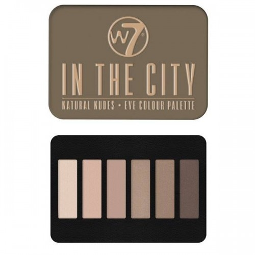 W7 - In the City Oogschaduw Palette