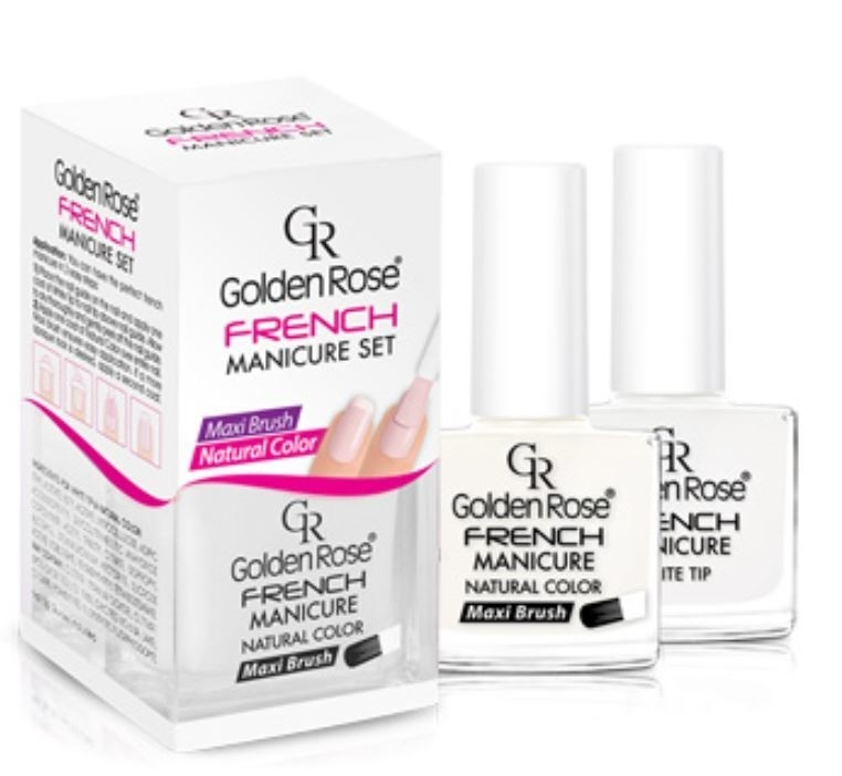 Golden Rose Fashion Color French Manicure