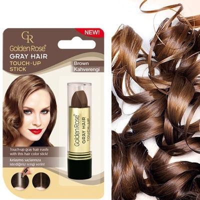Golden Rose Grey Hair Touch Up Stick (bruin)