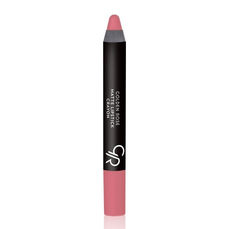 Golden Rose Matte Lipstick Crayon-12