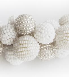 Sparkling Bubbles - white