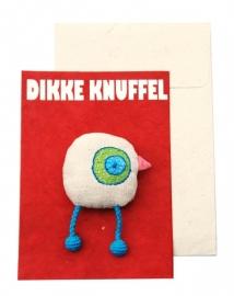 Happy postcard - DIKKE KNUFFEL