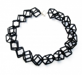 Bead Cubes Necklace