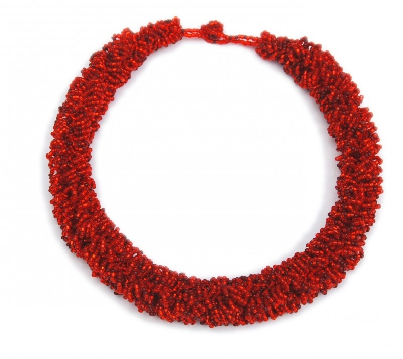 Loop Necklace - Rood