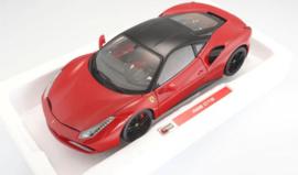 Ferrari 488 GTB black roof - Bburago Signature Series 1:18