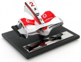 McLaren MP 4-22 A (2007) Nosecone - Amalgam 1:12