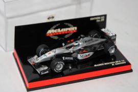 McLaren Mercedes MP 4-15 M. Hakkinen - Minichamps 1:43