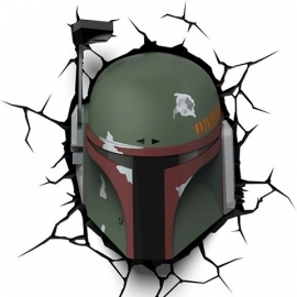 Boba Fett 3D Deco Art Led Lamp - Star Wars