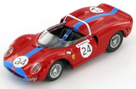 Ferrari 365 P2 #24 Brands Hatch 1965 - Best 1:43