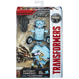 Transformers The Last Knight - Sqweeks - Premier Deluxe Class