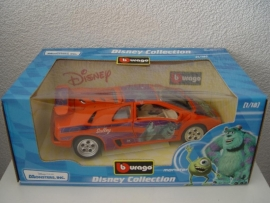 Disney Monsters Inc Lamborghini Diablo - Bburago 1:18