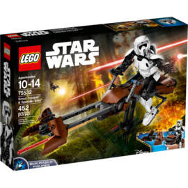 Lego 75532 Scout Trooper and Speeder Bike