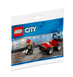 Lego 30361 Brandweer Quad - Lego City