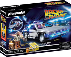 Playmobil 70317 - Back to the Future Delorean