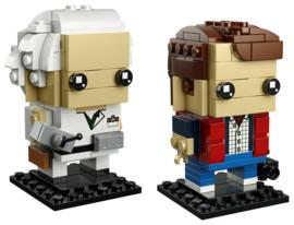 LEGO 41611 BrickHeadz Marty McFly & Doc Brown - Back to the Future
