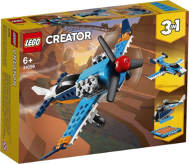 Lego 31099 Propellervliegtuig 3 in 1