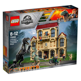 Lego 75930 Jurassic World Indoraptor Chaos bij Lockwood Estate