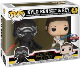 Funko Pop Kylo Ren & Rey