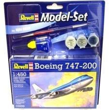 Boeing 747-200 KLM bouwdoos set - Revell 1:450