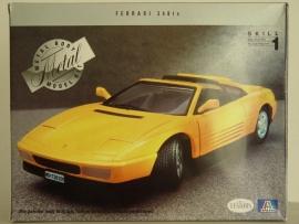 Ferrari 348 ts bouwdoos Die cast Metal - Italeri 1:24