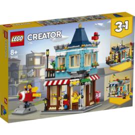 Lego 31105 Woonhuis en Speelgoedwinkel - Lego Creator
