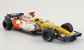 Renault R28 (2008) No. 5 F. Alonso - NewRay 1:24