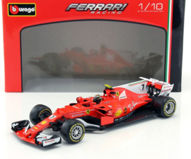 Ferrari SF70-H  F1 2017 Kimi Raikkonen Bburago 1:18