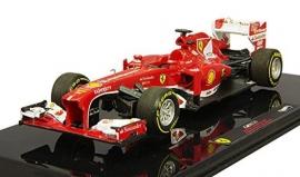 Ferrari F138 F1 2013 Fernando Alonso - Hotwheels ELITE 1:43
