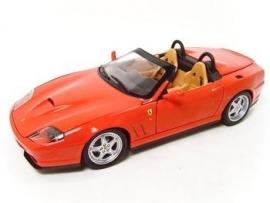 Ferrari 550 Barchetta - Hotwheels 1:18