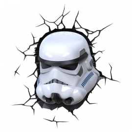 Stormtrooper 3D Deco Art Led Lamp - Star Wars