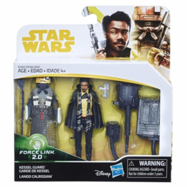 Star Wars Solo - Lando Calrissian en Kessel Guard Force Link 2.0