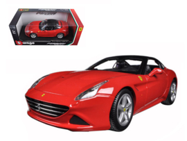 Ferrari California T red closed top - Bburago 1:18